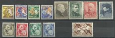 The Netherlands 1932/1935 – selection of series and stamp.