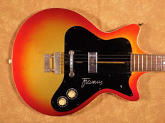 Real Vintage - Framus Hollywood 1961 - Rare Hollow Body - First Hand