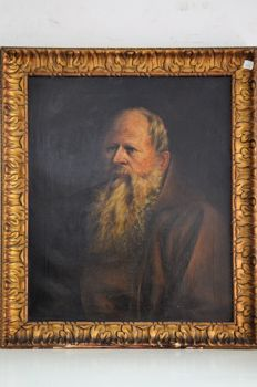 English school (19th-20th c.) - Bearded Monk