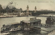 Paris approx. 300 x-various street scenes and points of interest-1900/1940