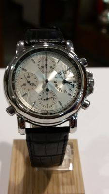 "Ulysse Nardin – Limited Edition ""Berlin"" Model. Men's wristwatch with protective film removed. Practically new"
