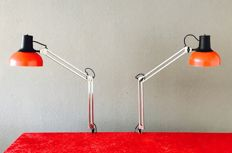 Lival Finland  -P12 architect lamps, two pieces