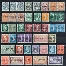 French colonies – Algeria, collection 1924-1958 (series, airmail, pre-paid, etc.)