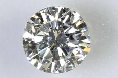 0.24 ct brilliant cut diamond – E / VS1.