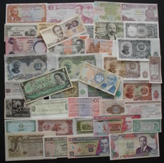 World - 100 different better banknotes