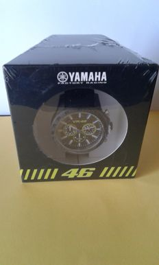 TW Steel  - Yamaha racing watch - emulates the yellow no. 46 worn by the MotoGP champion Valentino Rossi.