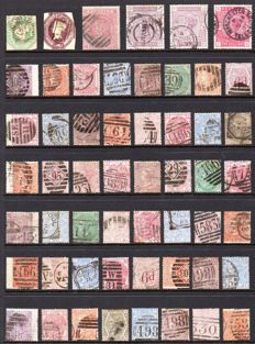 Great Britain, Queen Victoria - Collection On Stock Page