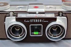 Stereo camera by Kodak 35 mm format