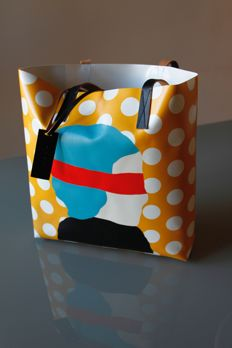 Marni – Tote bag with print designed by an artist (Ekta)