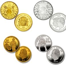 SPAIN – LOT OF COMMEMORATIVE COINS