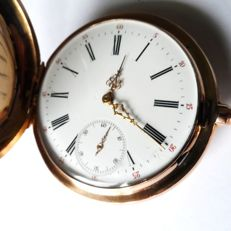 Monopol — swiss gents pocket watch --- ref no 24 — ca 1890