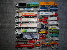 Wiking/Herpa/Majorette/Welly/Grell and others H0 - lot of 35 model cars