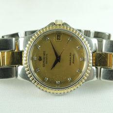 RAYMOND WEIL 2903 GENEVE AMADEUS 200 PATENTED Date - men's wrist watch - 1980s