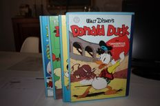 Carl Barks Library of Donald Duck Vol 1 to 3 + slipcase - 3xhc - 1st print (1986)