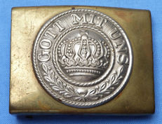Original WW1 Imperial German Prussian Soldier's Belt Buckle