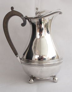 Antique Silver Plated Water Jug - William Hutton & Sons Early 20th Century