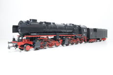 "Märklin H0 - 37021 - Steam locomotive with condenser tender BR 53 K ""Mallet"" of the DRG."