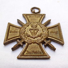 Honour and memory cross of the Marine Corps Flanders (Flanders cross)