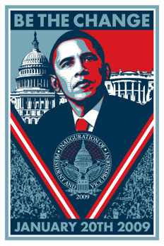 Shepard Fairey (OBEY) - Be The Change