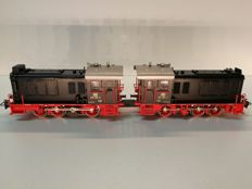 Märklin H0 - 3346 - Coupled diesel locomotives BR 236 of the DB
