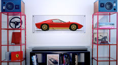 Halmo Collection Lamborghini MIURA plexiglass panel
