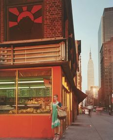 Joel Meyerowitz (1938-) - 'Young Dancer' - New York City - 1978