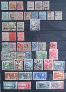 British Commonwealth – collection on stock pages.