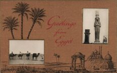 Egypt 110 x-various locations, Types and points of interest-1900/1940