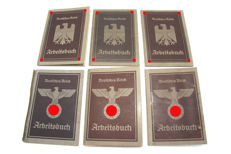 6 Work Books German Reich