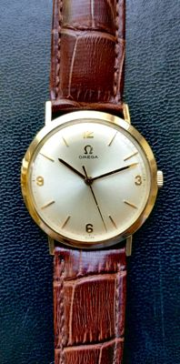 Omega Dress watch 14K filled case, 1960th's