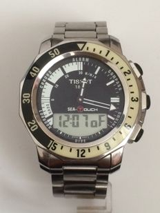 Tissot Sea-Touch Men's Wristwatch With Box