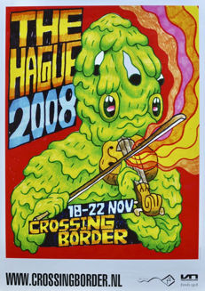 Chad van Gaalen and others - 4x Crossing Border Festival - 2008-2011.