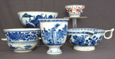 Collection of cups and jugs - China - 18th century