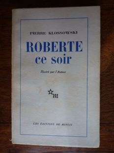Pierre Klossowski - 5 first editions - 1953 / 1965