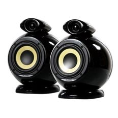 EBTB | Everything but the Box Pluto  High-End speaker set Colour: black