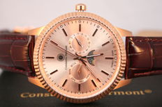 "Constantin Durmont Ohio ""Rose gold Brown"" -- Men's wristwatch"