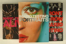 Mario Testino; Lot with 3 publications - 1999 / 2002