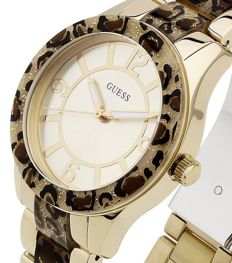 Guess – Goddess Leopard Animal Print – Women's watch