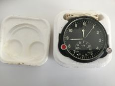 20th century, New CCCP Russian MIG fighter jet clock with papers