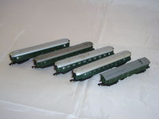 Arnold N - 5x bogie passenger coaches of the DB