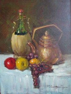 Felice HROVAT - Nature Morte aux Fruits