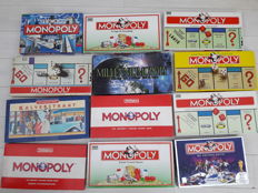 12 Monopoly games
