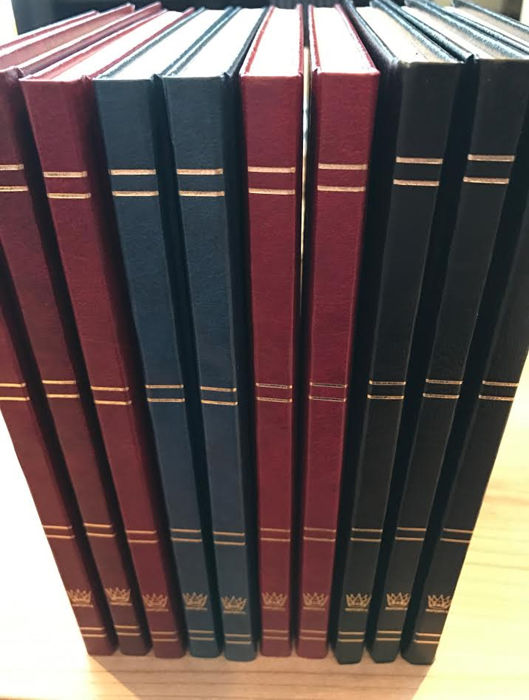 Accessories - 10 Importa stock albums with 16 white pages