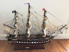 A model of the USS Constitution ( 1797)