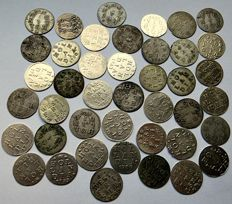 """Holland and West-Friesland – Double """"Wapenstuiver"""" 1712/1792 (42 pieces)"""