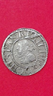 Spain - 1/2 real or Croat - 1611.