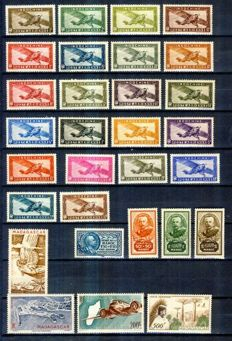 Former French colonies 1935/1955 – Assortment of various complete series
