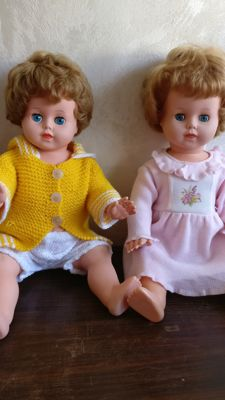 2 Original Belgian Unica dolls