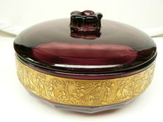 Walther - Large decorated Art Deco sweetmeat box