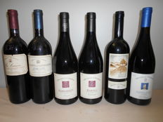 2005 Barolo Tortoniano Michele Chiarlo x 1 bottle + 2006 Barbaresco Reyna Michele Chiarlo x 1 bottle + 2007 Nebbiolo Il Principe Michele Chiarlo x 1 bottle   + 2013 Barbera Le orme  Michele Chiarlo x 1 bottle + 1990 Dolcetto le Coste Michele Chiarlo x 1 b